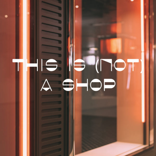 This is (not) a shop